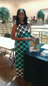 A. Celeste at Fort Worth Library's Author Round Up.