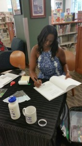 Book signing at Fort Smith Public Library